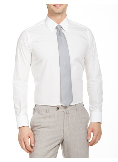 Bisse GM20Y21137 Uzun Kollu Klasik Gömlek Beyaz